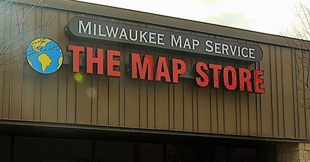 milwaukee map location directions