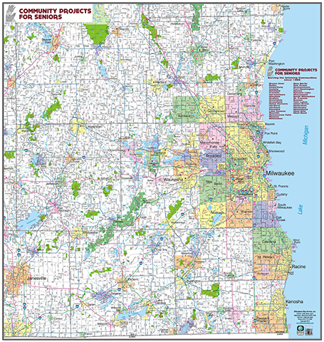 Milwaukee Map Custom Maps